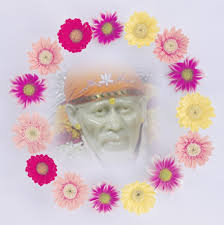 sai baba floral images