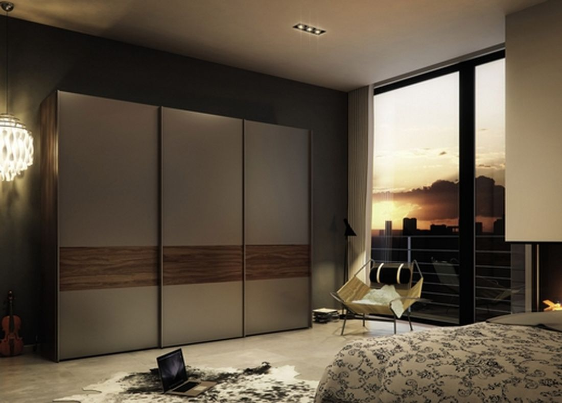 35 images of wardrobe designs for bedrooms for Sliding wardrobe interior designs