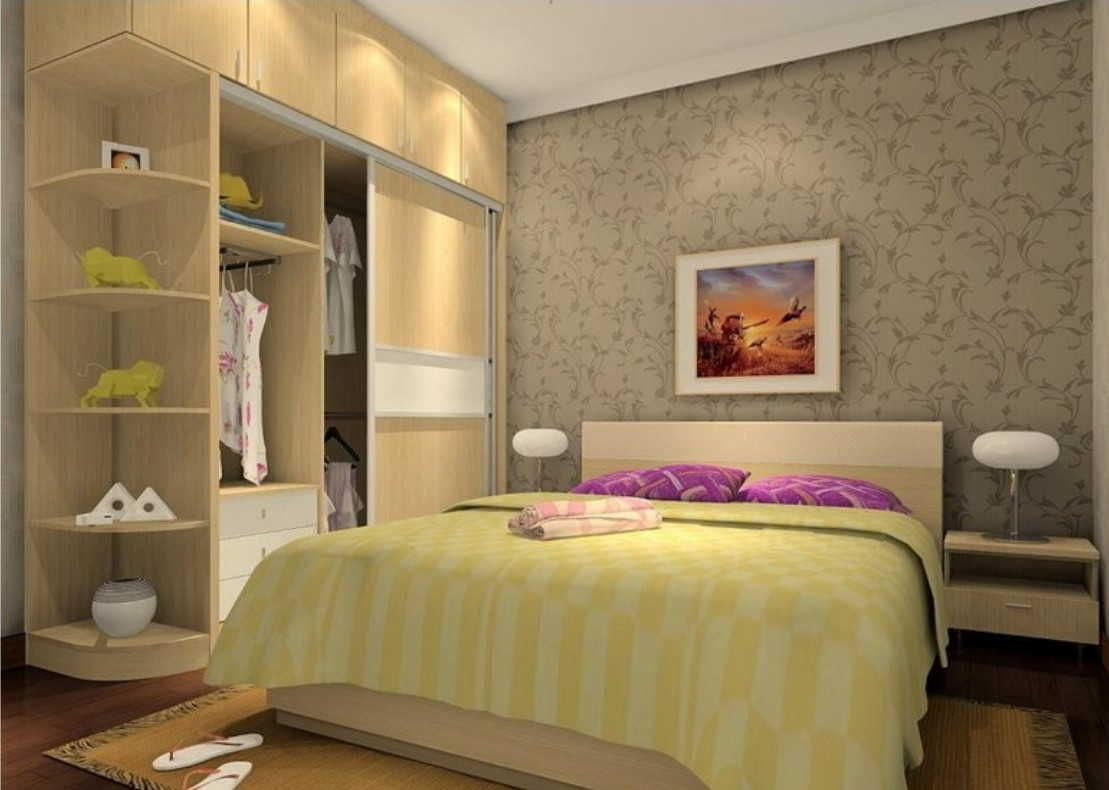 35 images of wardrobe designs for bedrooms for Small bedroom designs images