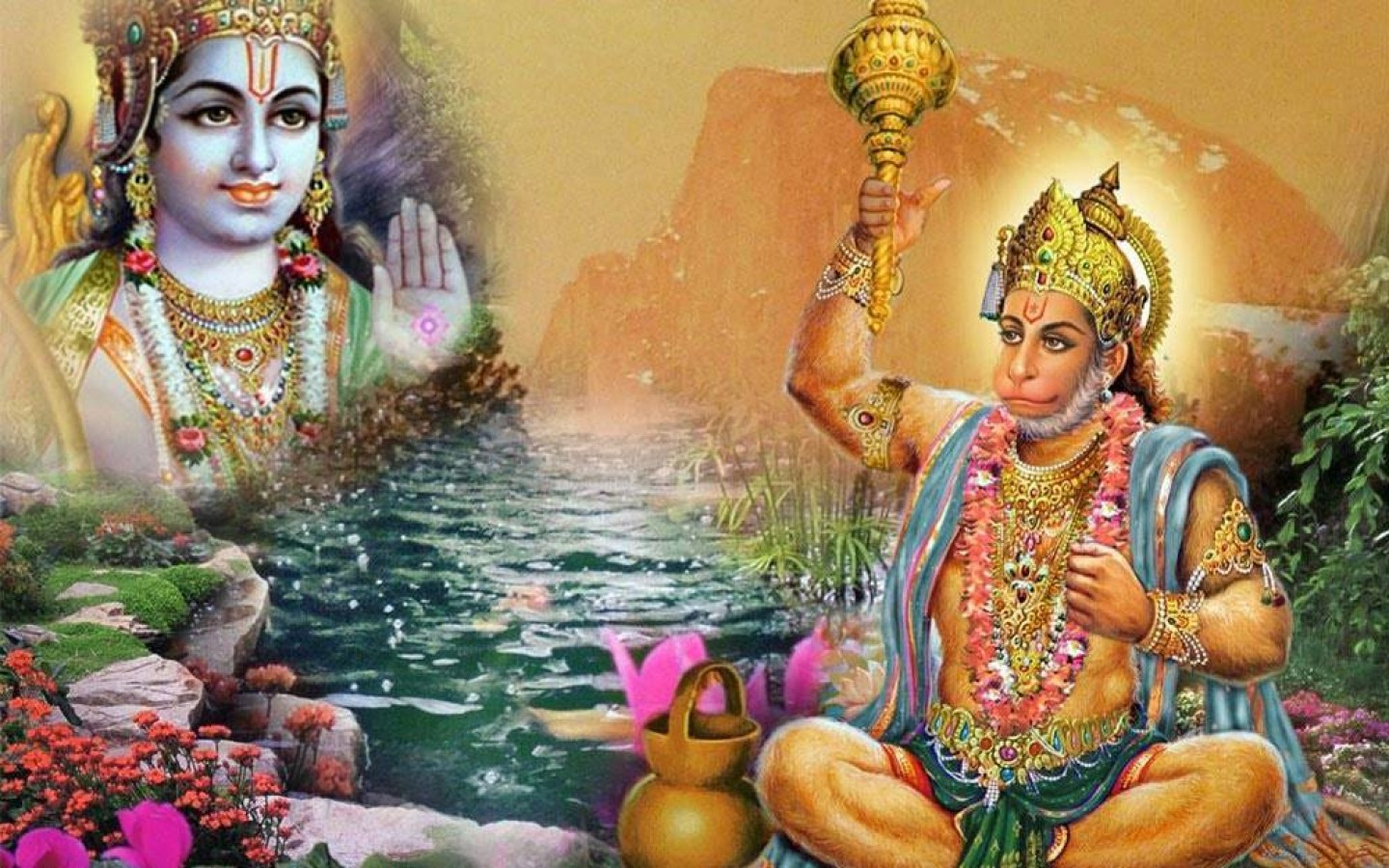 Hanuman Ji Ram Ji Wallpapers Bajrang Bali Images