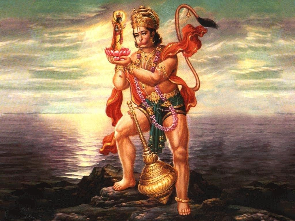 Lord Hanuman Ji & Lord Ram Ji Hd Photos