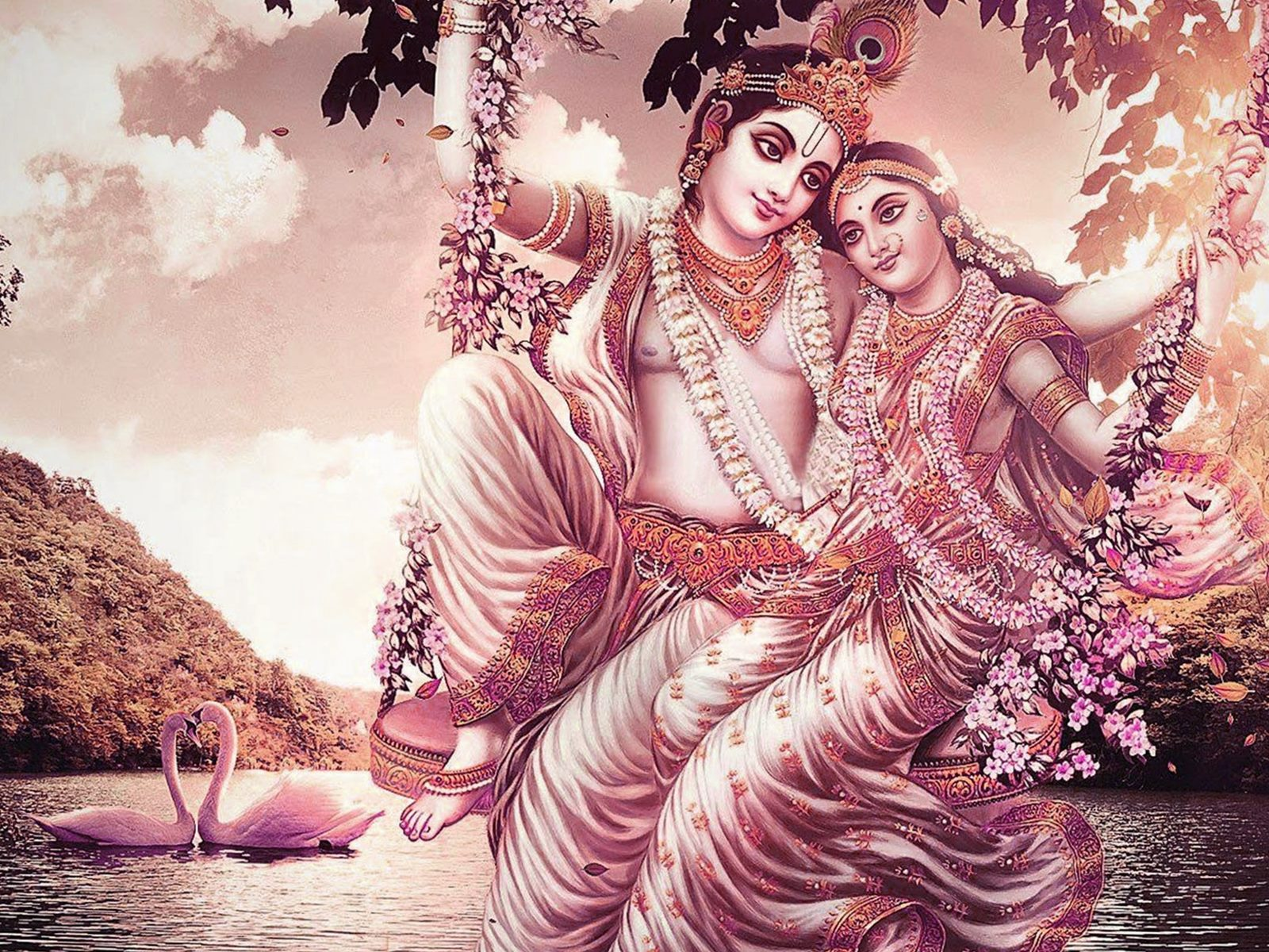 Love Wallpaper Of Radha Krishna : Top 35+ Best Beautiful Lord Krishna HD Wallpaper Images ...