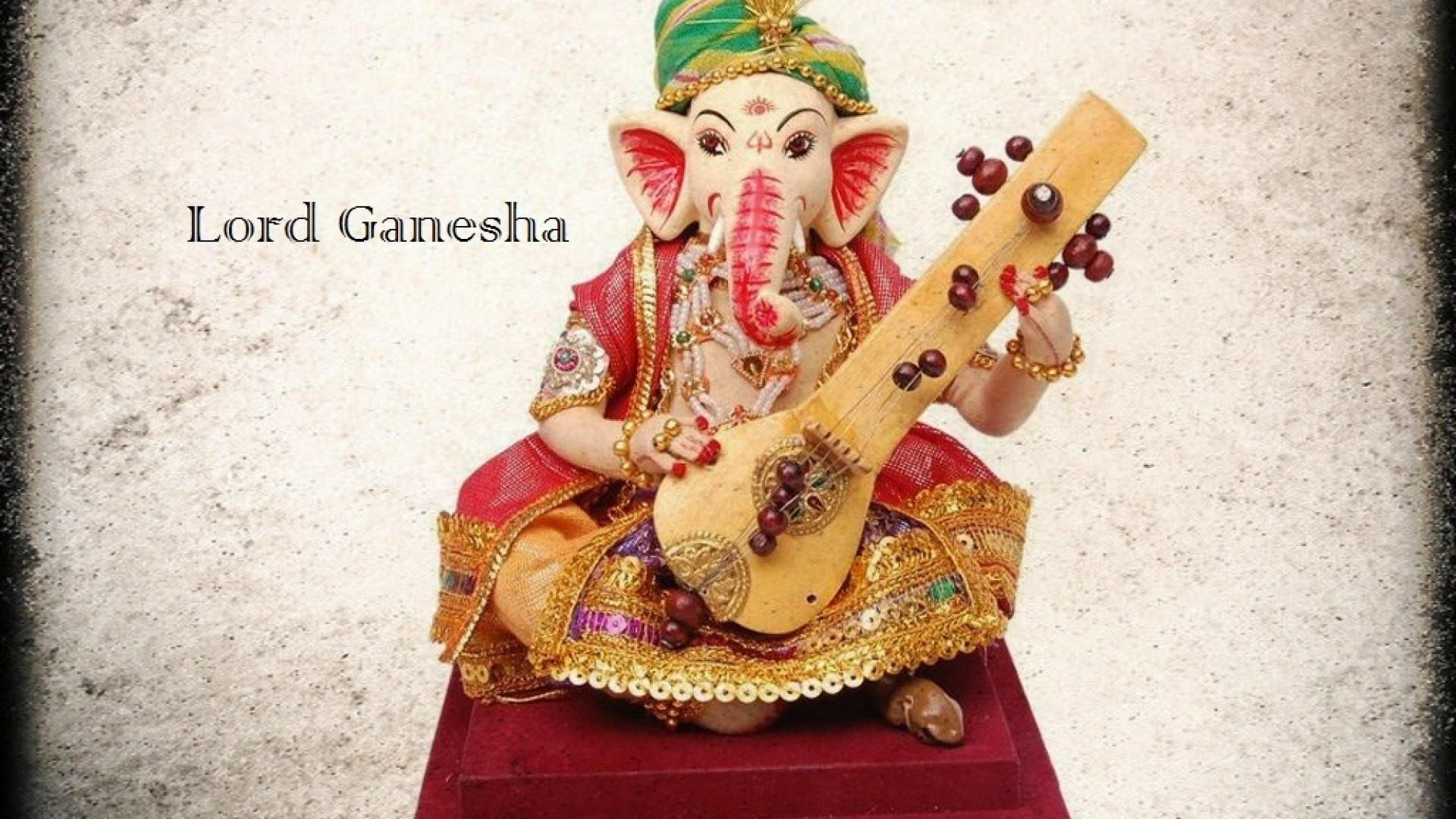 bal ganesha cute statue wallpapers