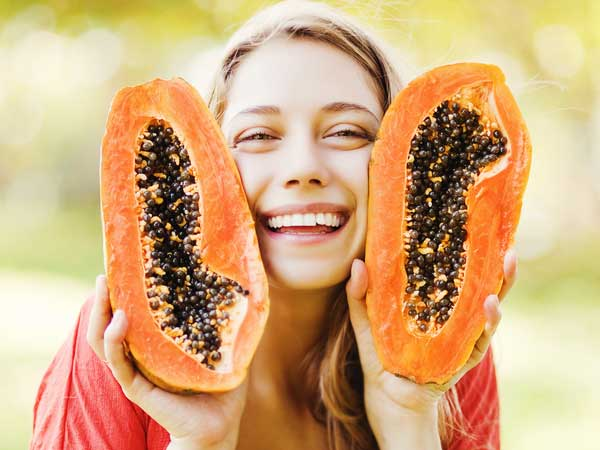 papaya juice benefits for skin