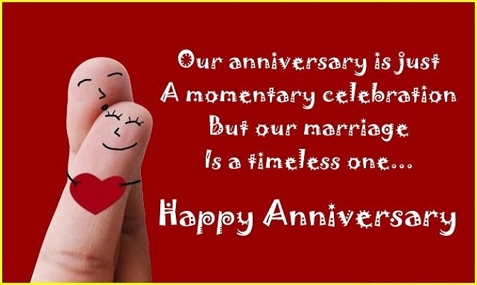 happy anniversary hindi messages
