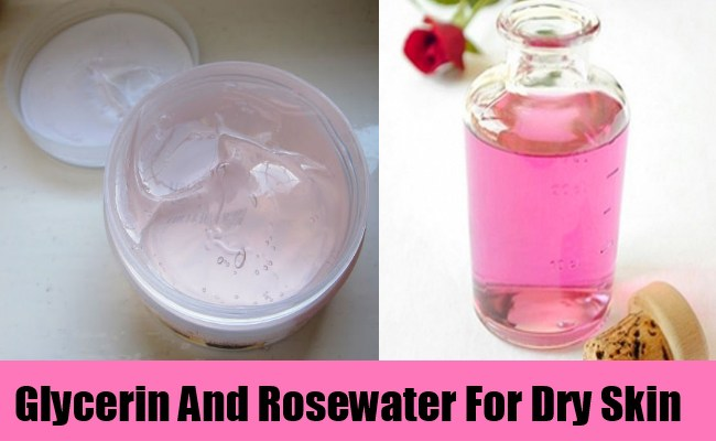 rose water pack for dry skin