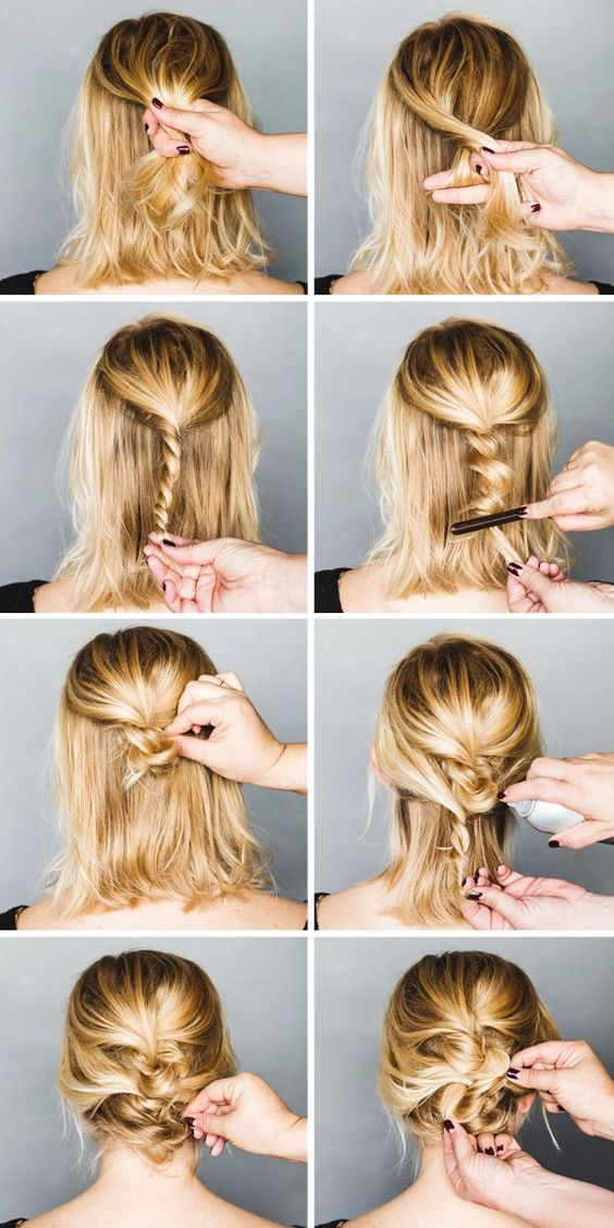 Marvelous Easy Party Hairstyle For Long Hair Wonderful Ideas For Long Hair Short Hairstyles Gunalazisus