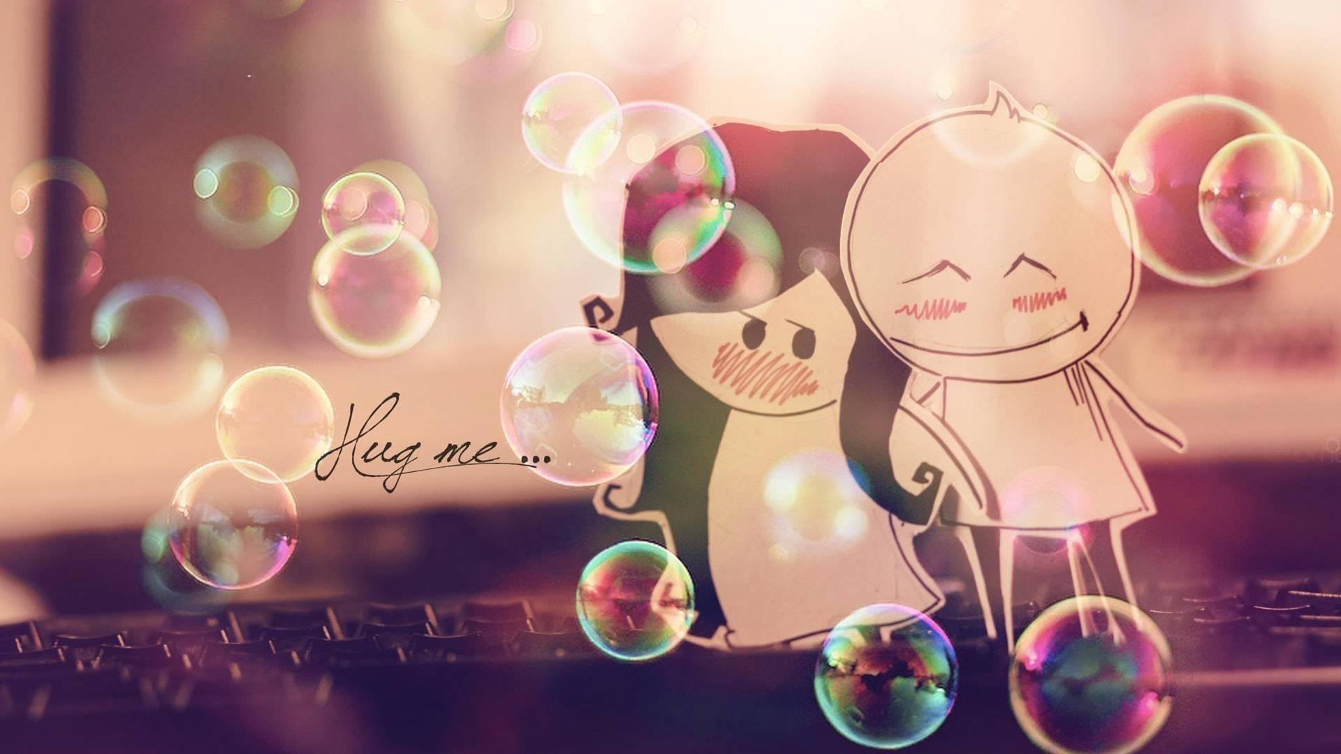 Cute-Love Wallpaper For WideScreen