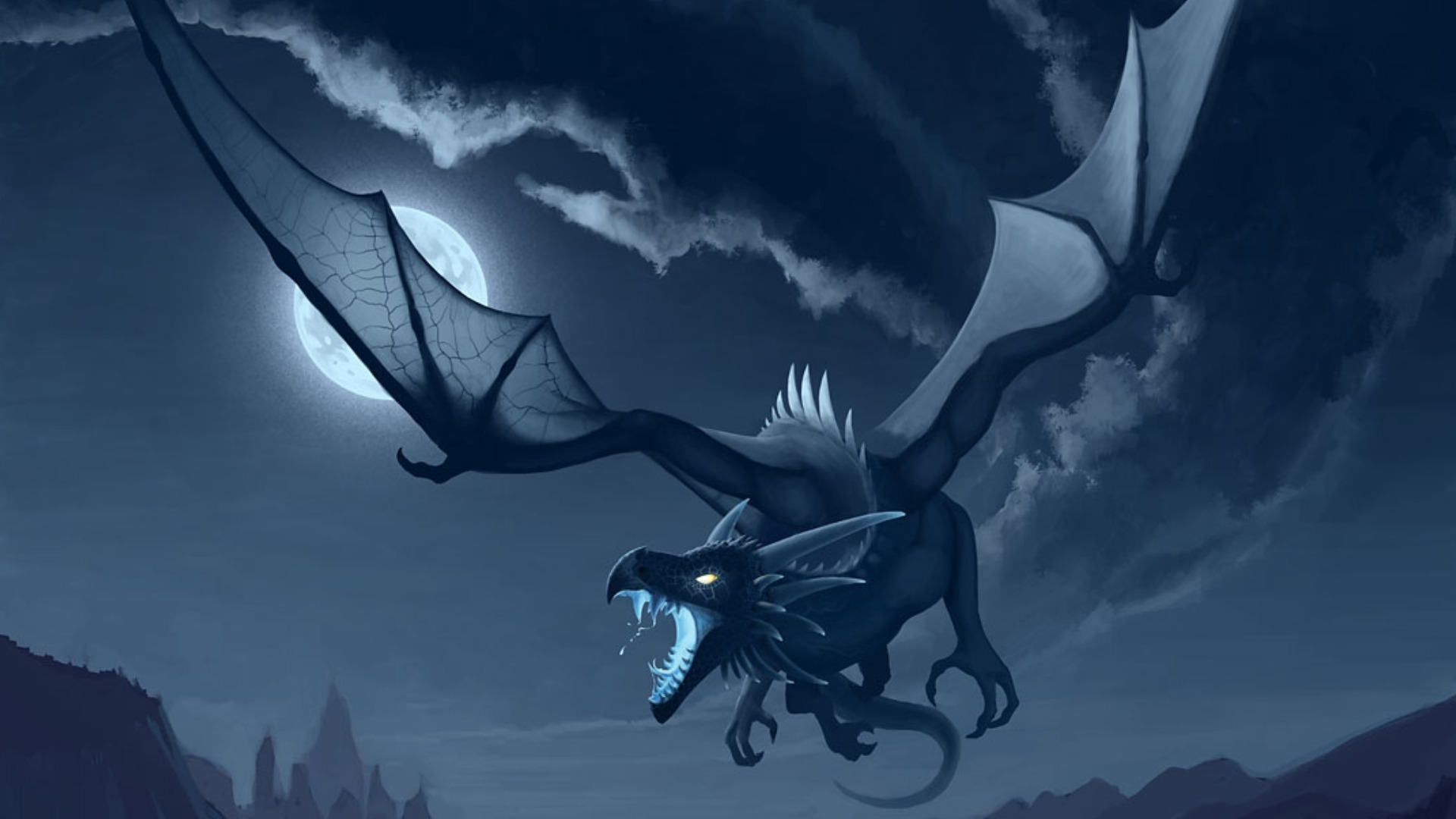Dragon-from-cloud