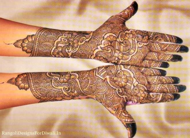 Bridal Latest Mehndi Designs