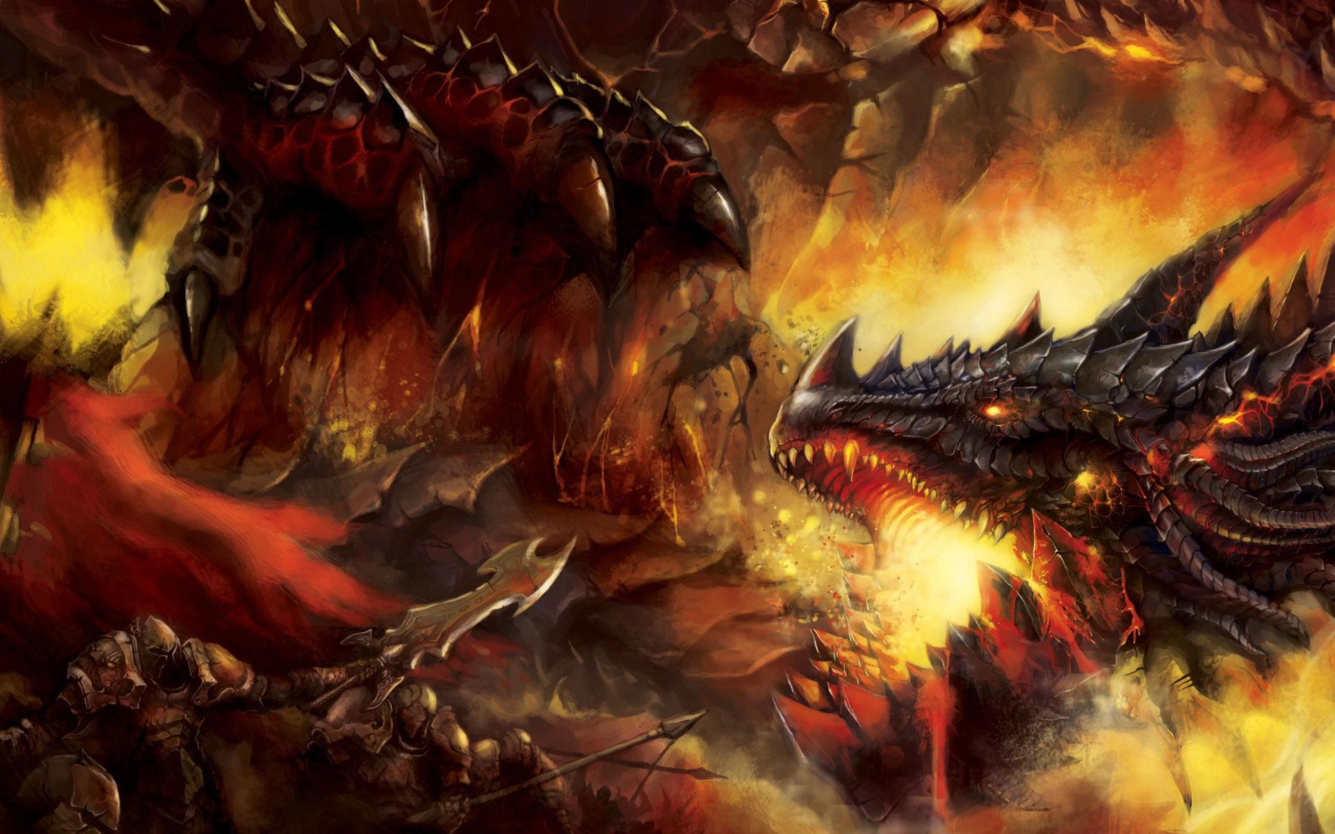 Warrior-Battle-Dragon