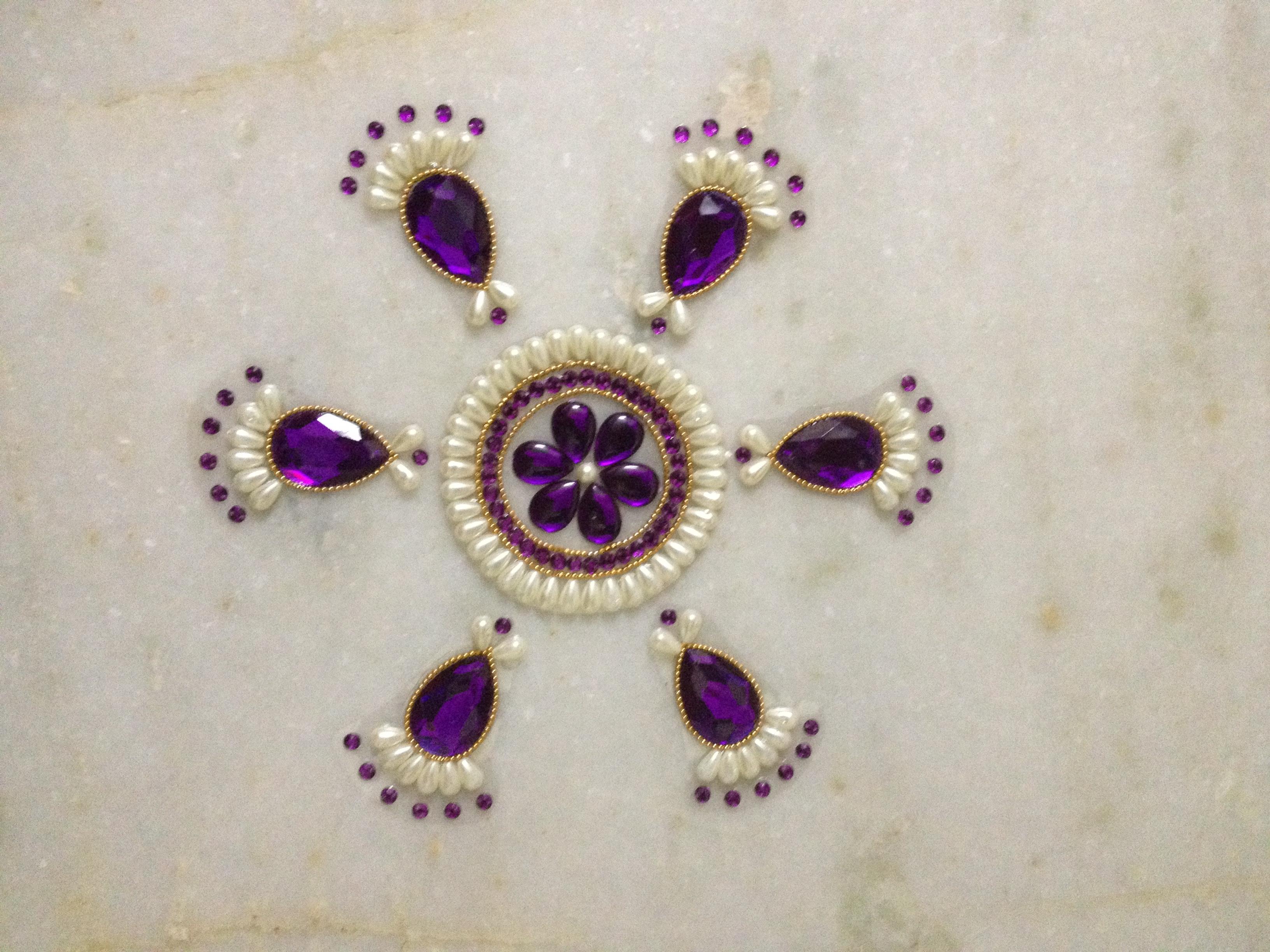 moti beautiful rangoli design
