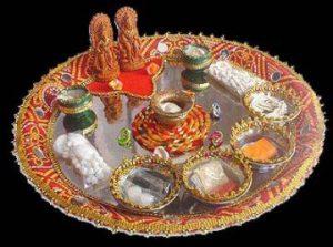 karva chauth pooja thali decration ideas