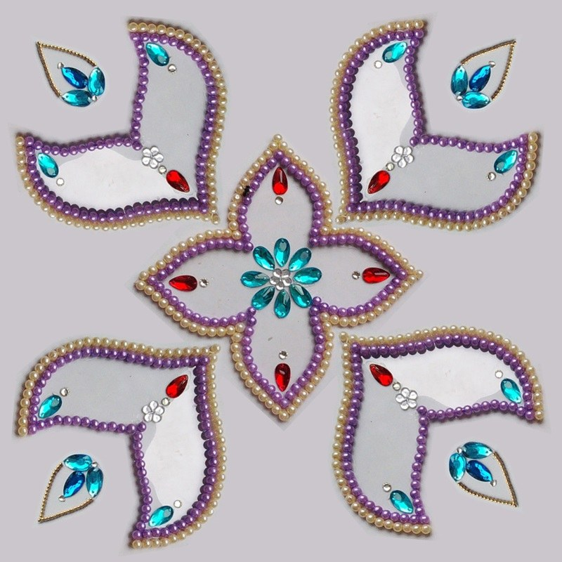 kundan rangoli design pictures