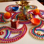 Top 25+ New Kundan Floor Rangoli Design Images Collection
