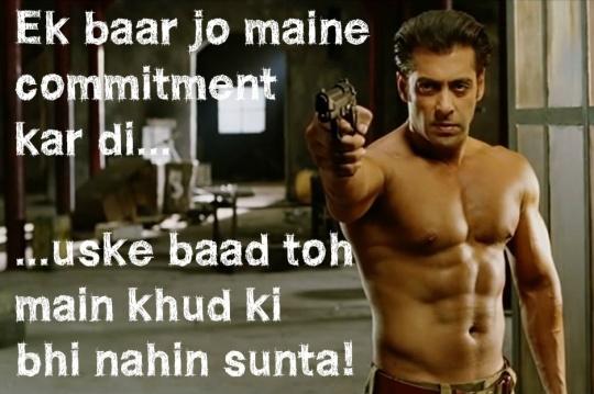 Salman Khan Dialogues Wallpapers