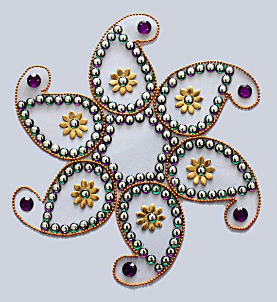 traditional rangoli design