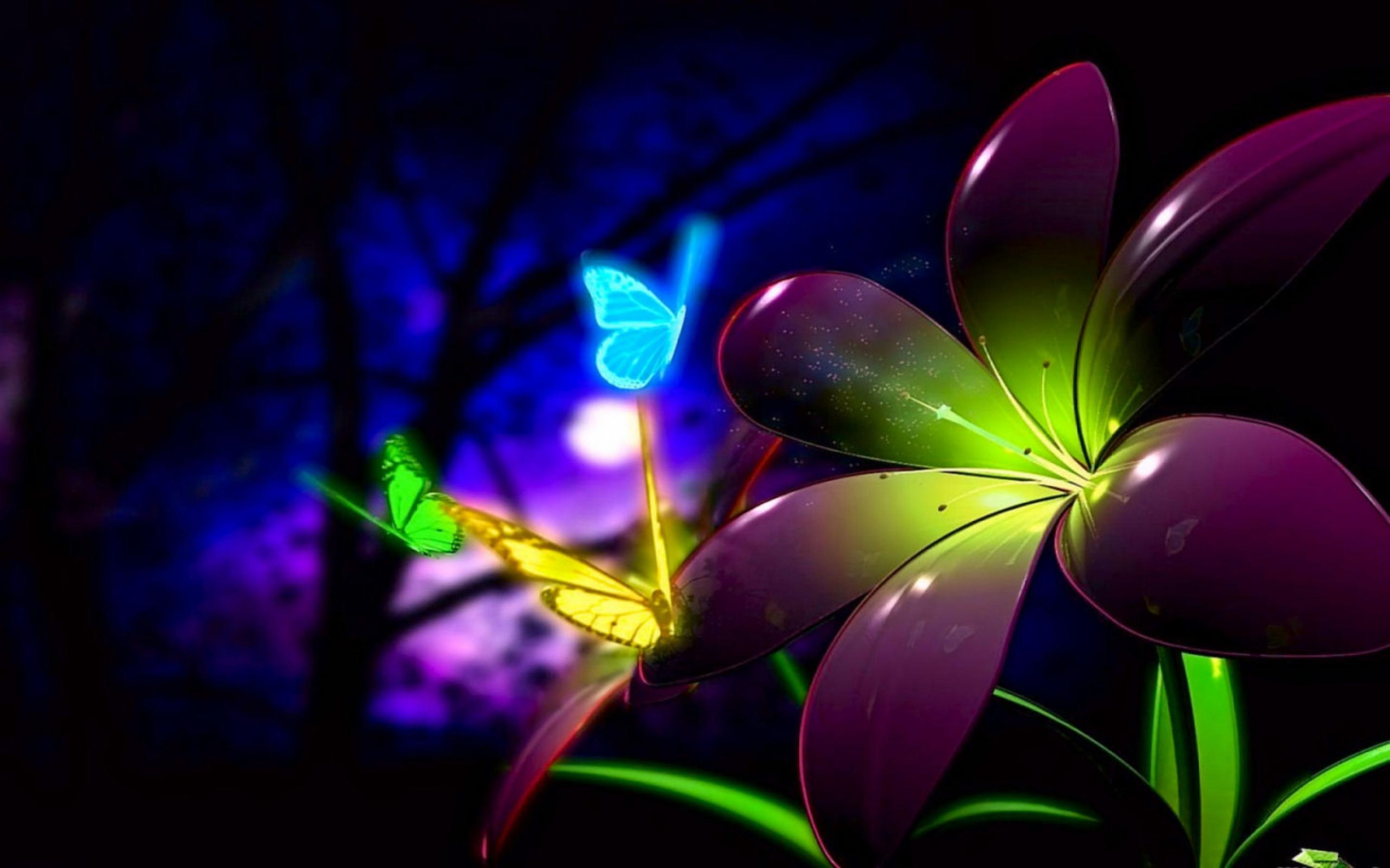 flowers good night wishes wallpapers