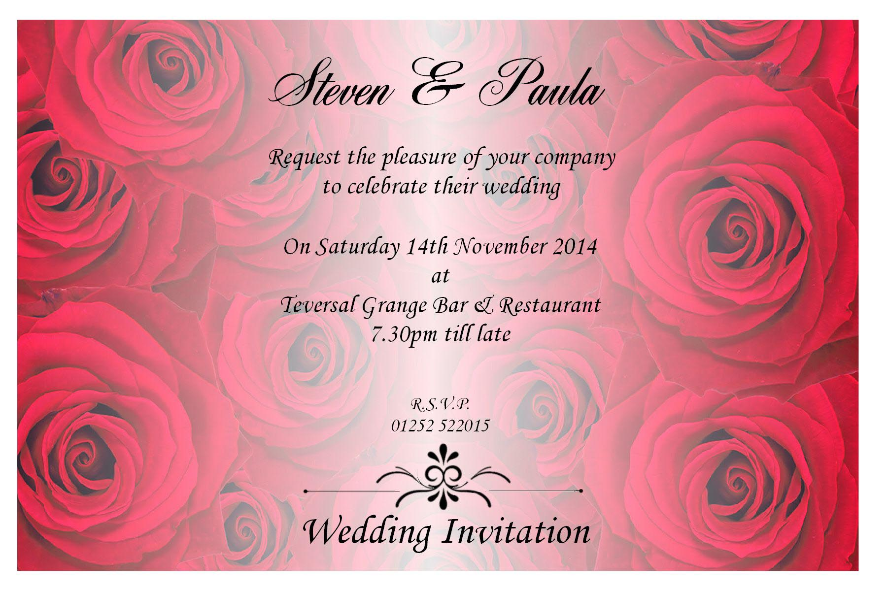 Invitation Cards For Wedding: Romantic Marriage Invitation Quotes For Indian Wedding