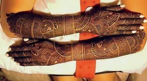 heavy mehndi designs for full hands