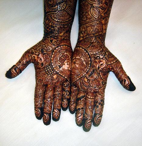 mehndi designs for men hands