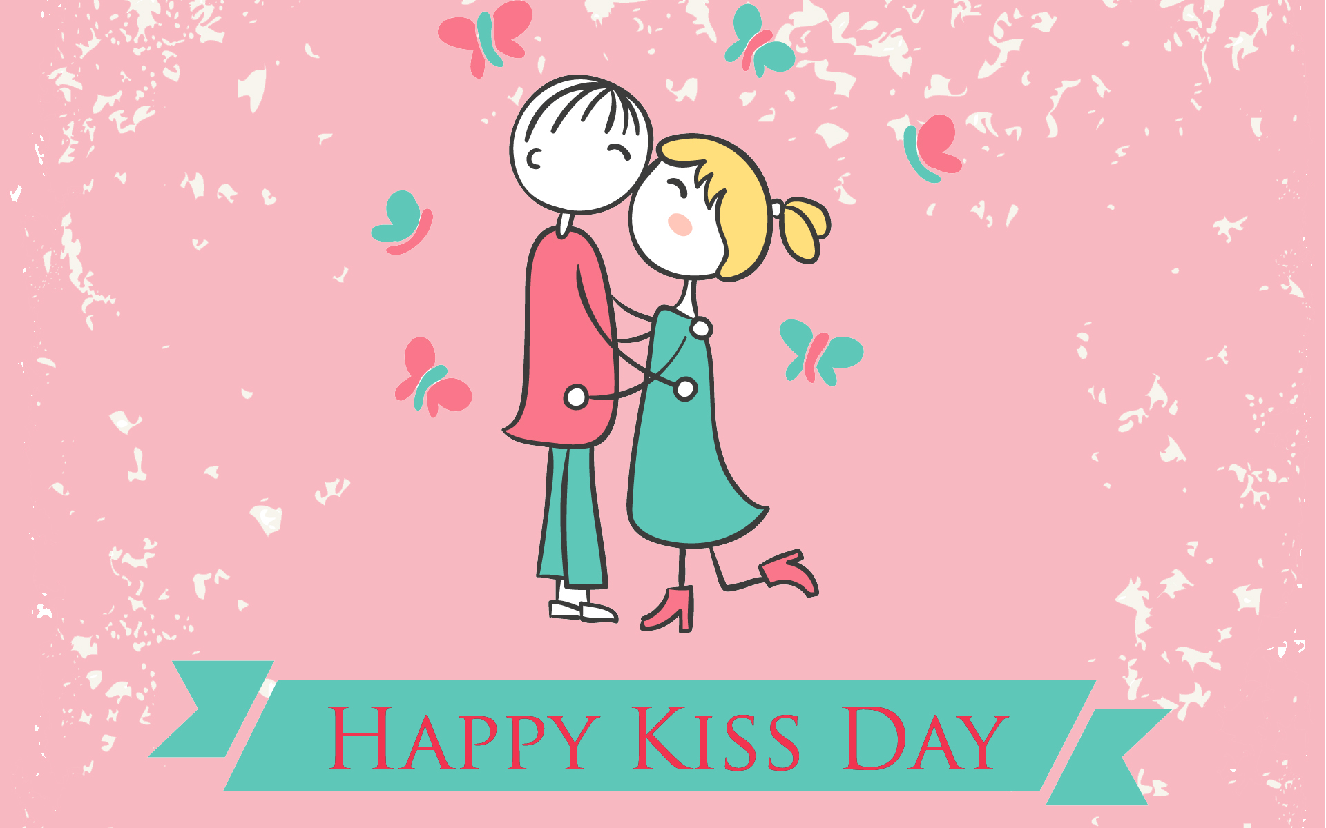 best hot happy kiss day images shayari wallpapers messages for