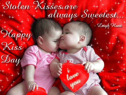 happy kiss miss day