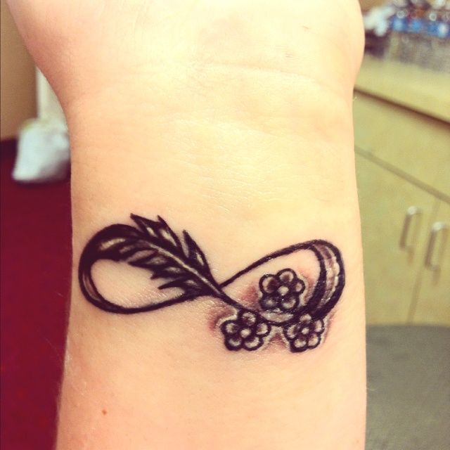 Small Cute Tattoo Idea For Girls Most Beautiful Wrist Design