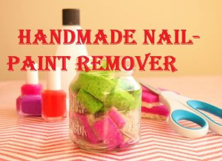 how to remover nail paint without remover