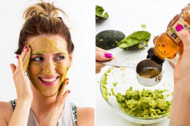 Avocado and honey mask