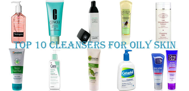 Top Best Cleanser For Oily Skin - Best face wash for oily skin