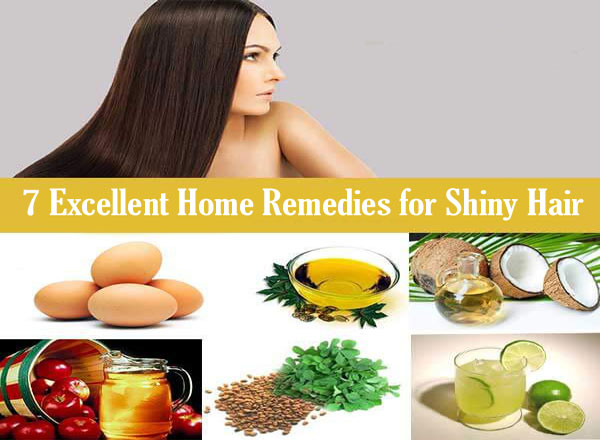 home remedies for hair shine soft