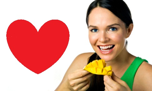 mango is good for heart diseases