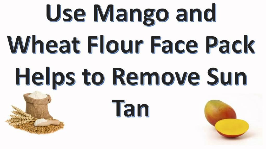 mango face pack for oily skin