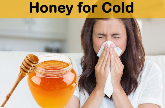 Honey Cures Cold & Cough