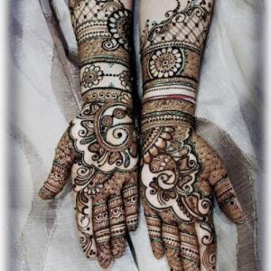 traditional heena designs