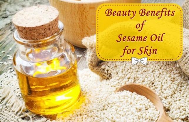 benefits of sesame oil for skin