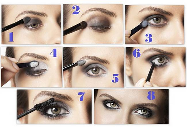 how to apply eye shadow