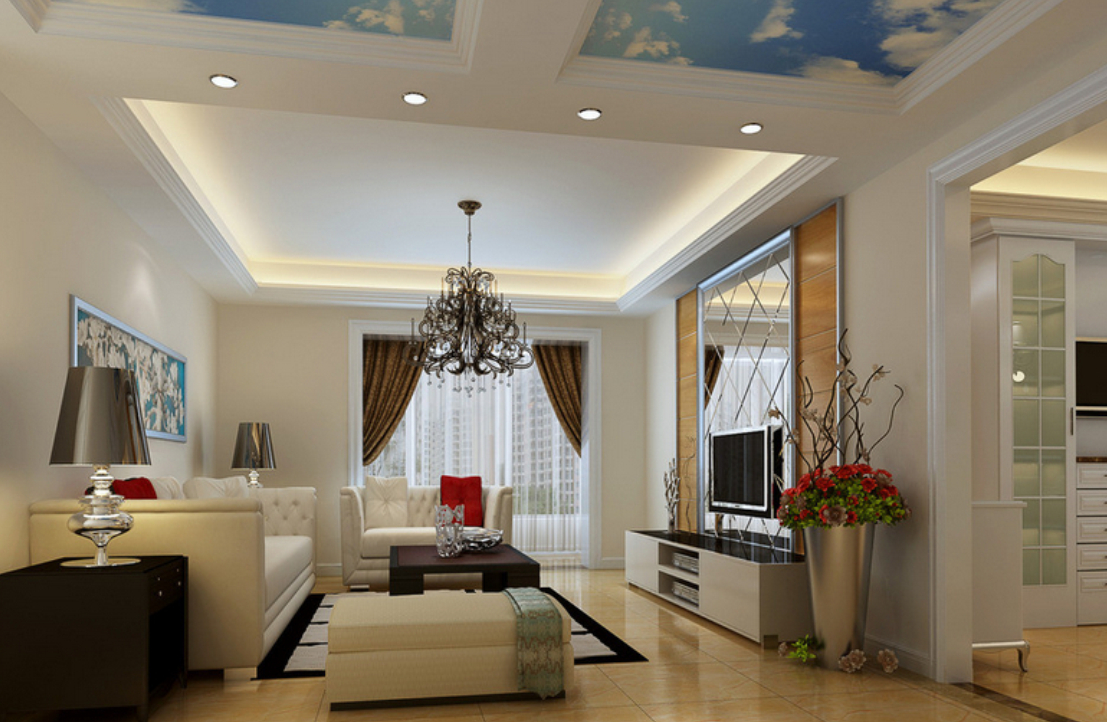 25 latest false designs for living room bed room youme - Latest ceiling design for living room ...