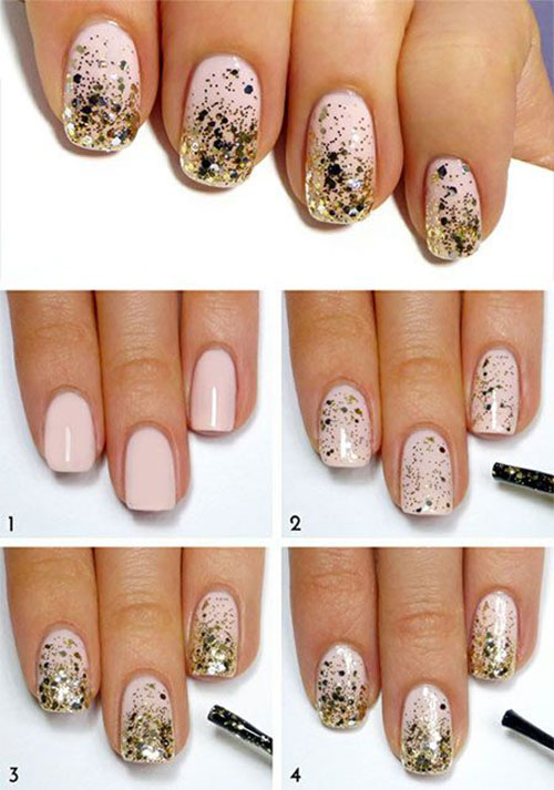 Diy Step By Step Nail Art Gallery Easy Nail Designs For Beginners
