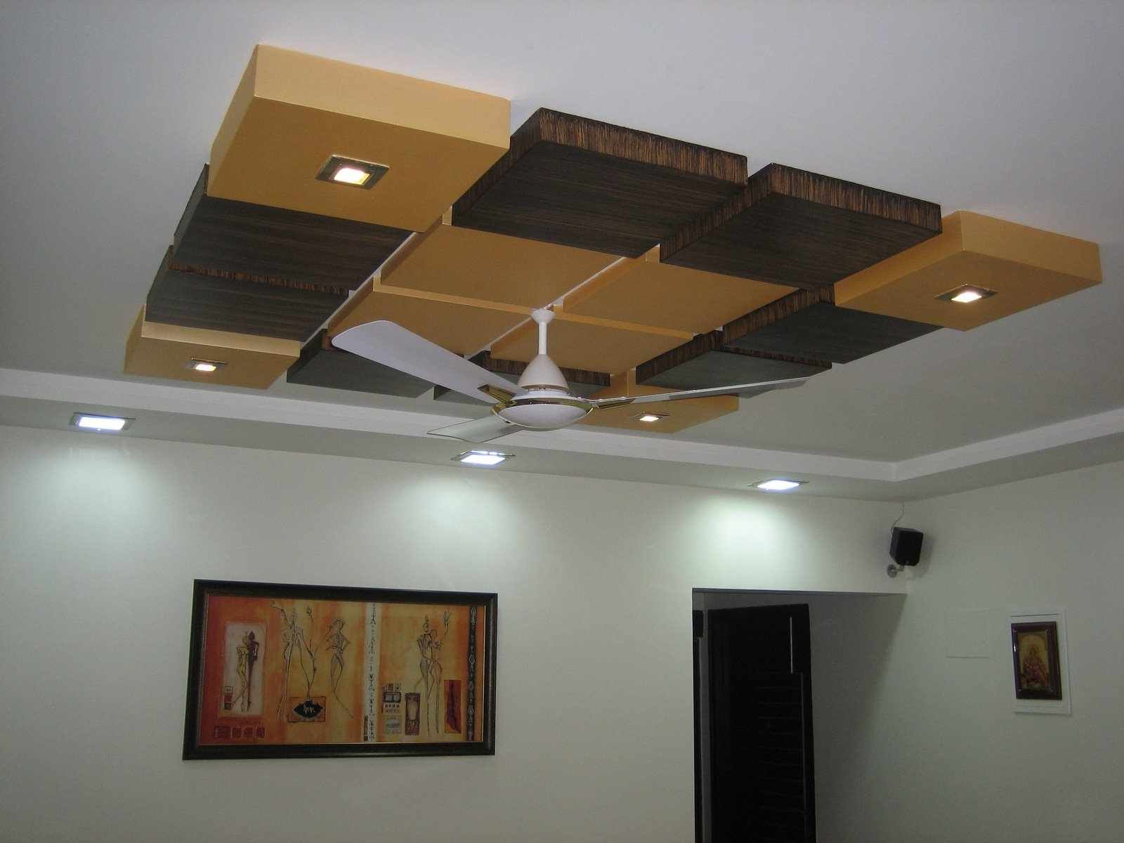 False Ceiling Designs For Bedrooms Typical Indian Pop Design