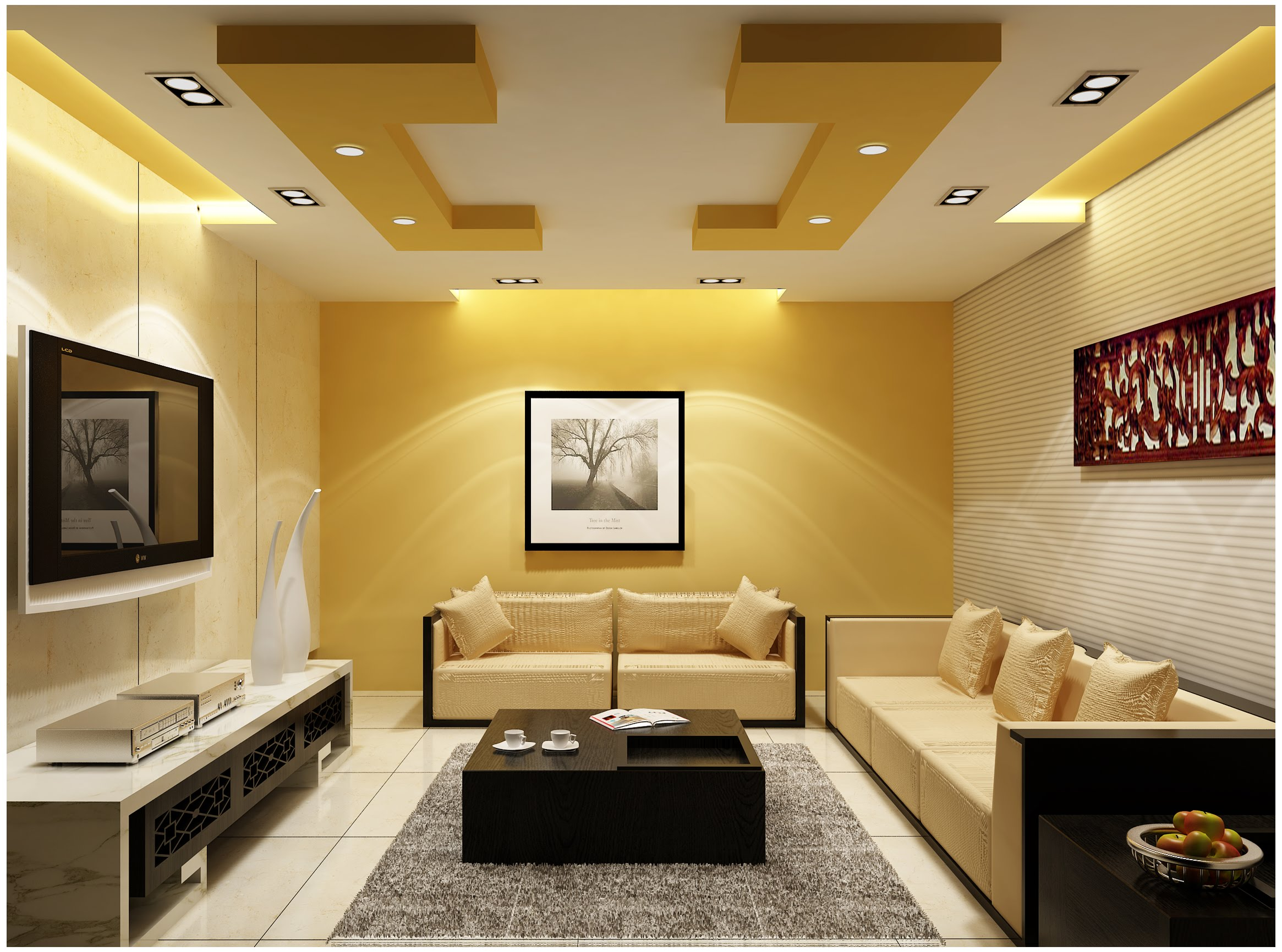 Indian Living Room Designs Photos