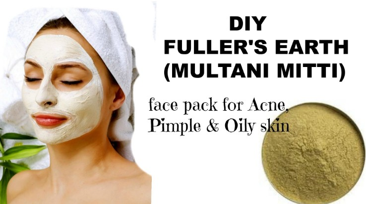Multani Mitti For Acne And Pimples