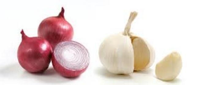 Onion and Garlic juice