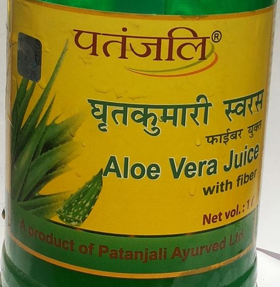 how to use patanjali aloe vera use