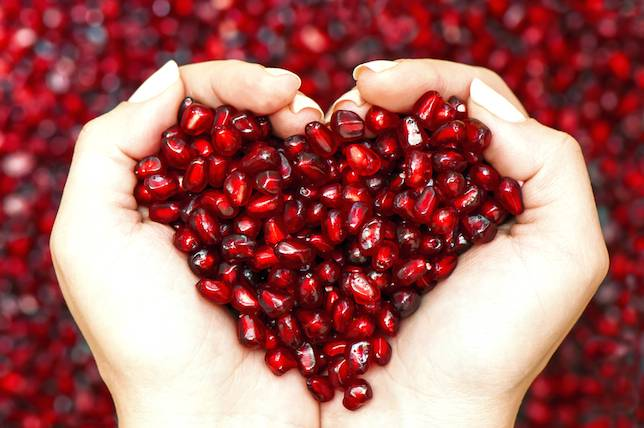 Pomegranate health benefits for heart diseases
