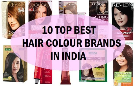 Best Hair Dye Color Brands In India
