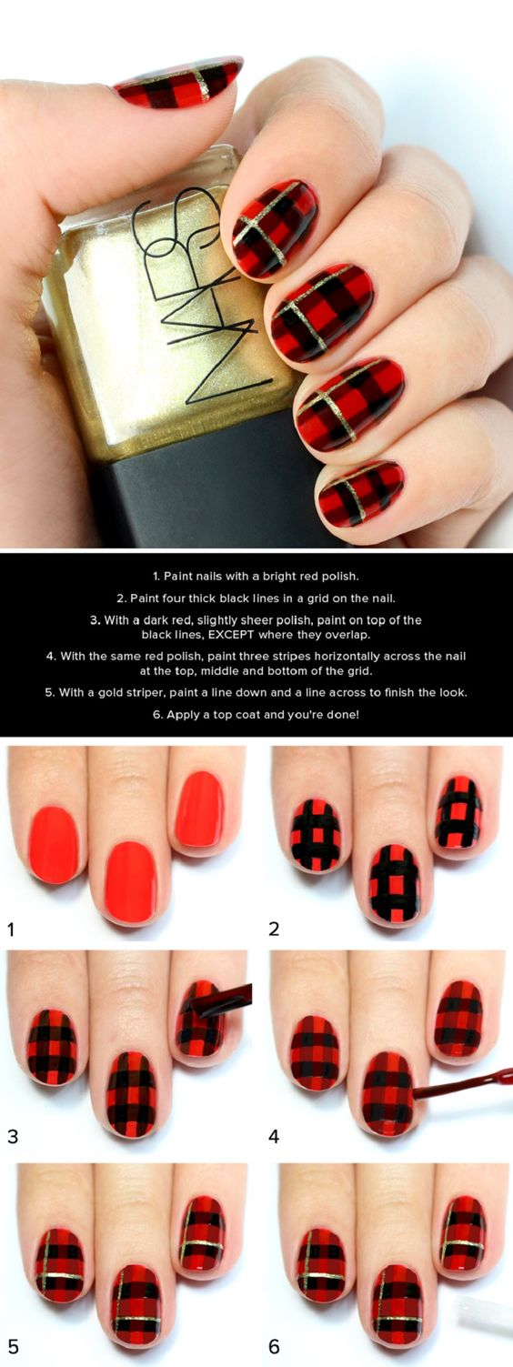 How To Do Nail Art Easily At Home For Beginners - Step By ...