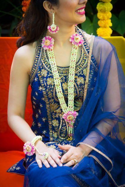 real flower jewellery