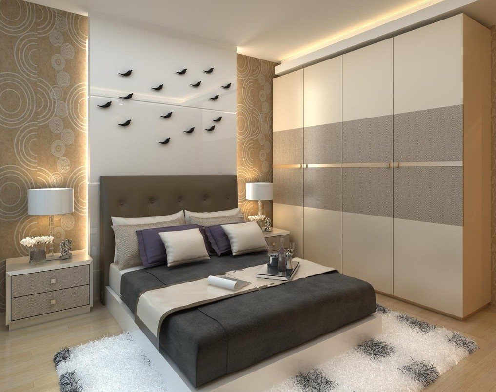 bedroom interior design wardrobe